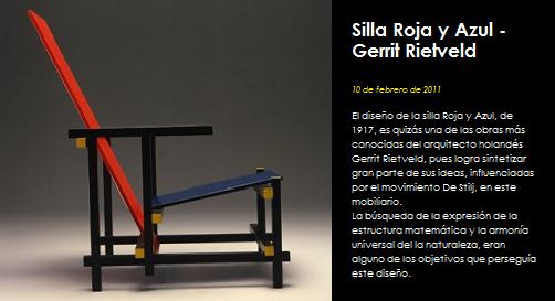 Studiobatista silla roja y azul gerrit rietveld for Silla roja y azul