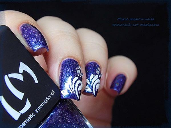 Nail Art gouttes sur Magie (G)3