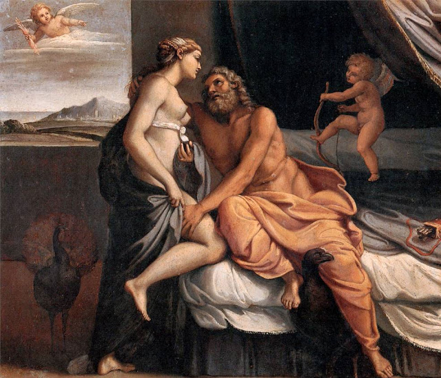 Annibale Carracci ,Methamorphosis,Ovid