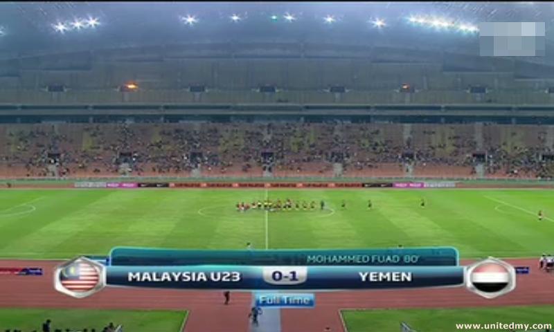 Malaysia U23 vs Yemen