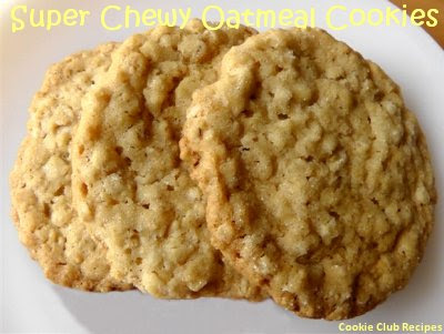 Super Chewy Oatmeal Cookies Recipe by CookieClubRecipes