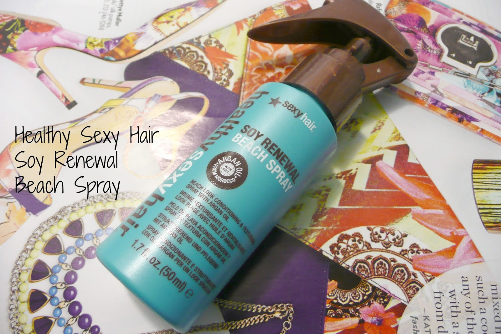 Healthy Sexy Hair Soy Renewal Beach Spray Review