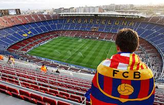 Estadio de fútbol del Barcelona, el Nou Camp