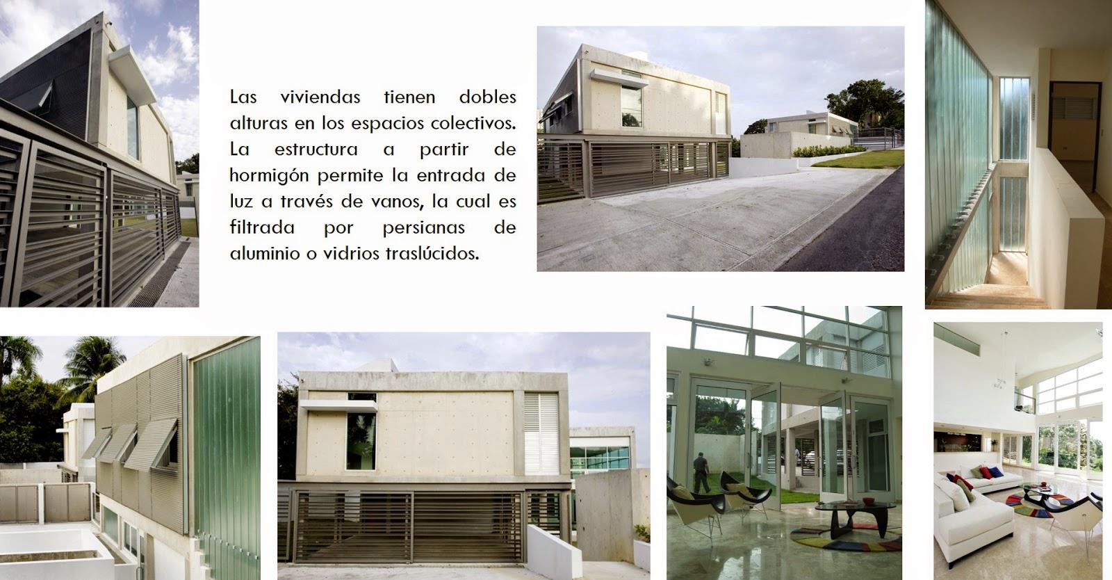 Arquitectura universidad del norte ejemplos casas for Arquitectura universidades