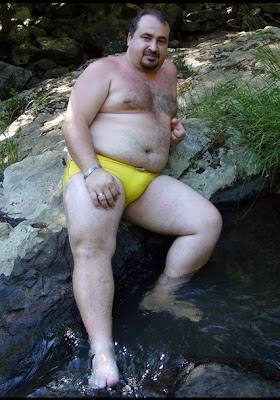 outdoorsman07012012 14 Chubby Sexy Guys Outdoors with their Cocks Hanging Out