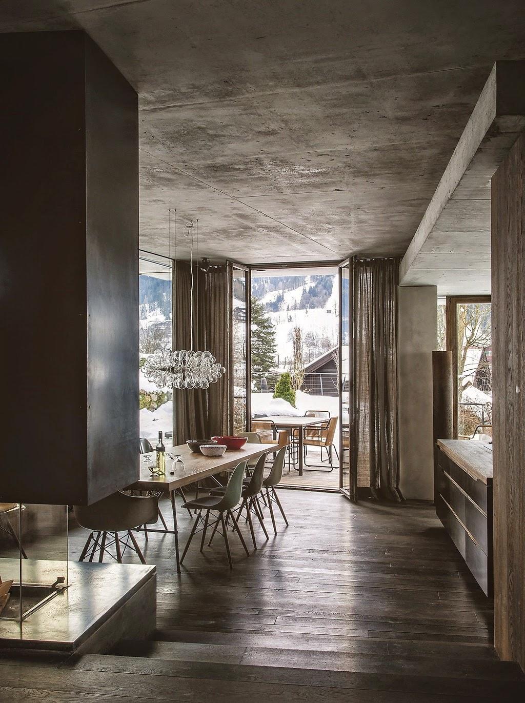 Un moderno chalet in Austria