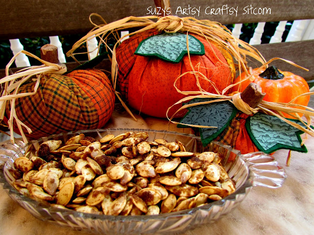 candied pumpkin seeds recipe halloween