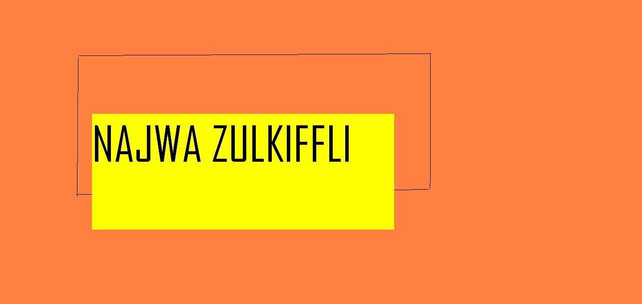 Najwa Zulkiffli :: Blog Rasmi