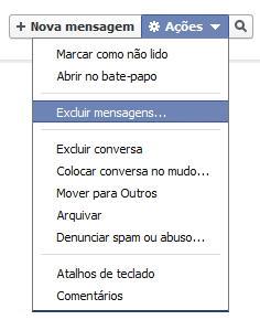 Como Excluir o histórico de Conversas no Chat do Facebook