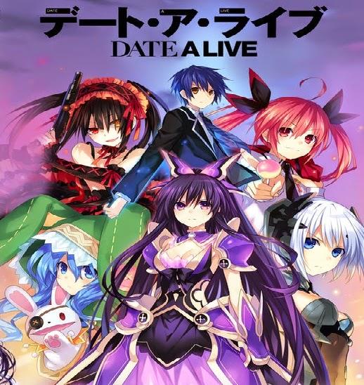 Date a Live + OVA Sin Censura [12/12][SubEsp][90MB][MEGA][MP4]