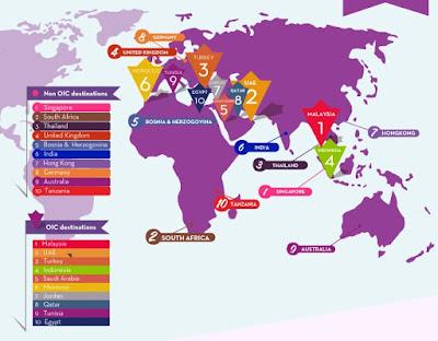 ムスリム イスラム教 やさしい 旅行先 世界