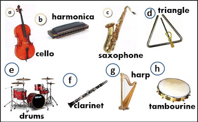music instruments,cello,drums,harpa