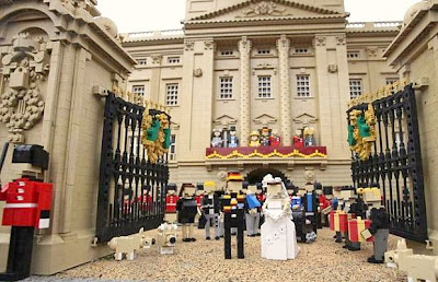royal wedding in legoland