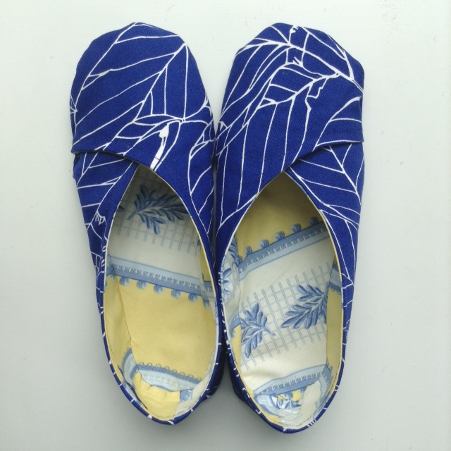 Ninja Woman: DIY Kimono Slippers