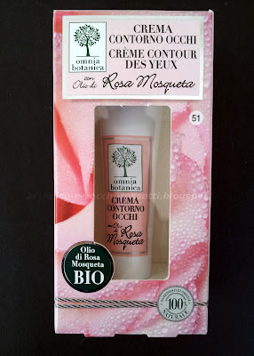 Omnia Botanica Crema contorno occhi rosa mosqueta
