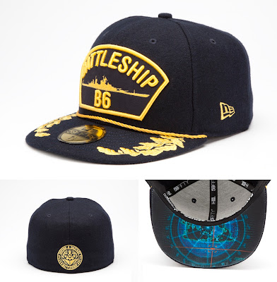 Battleship Crew Series 59Fifty Fitted Hat by New Era