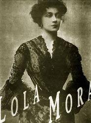 Una Gran artista Argentina Lola MORA