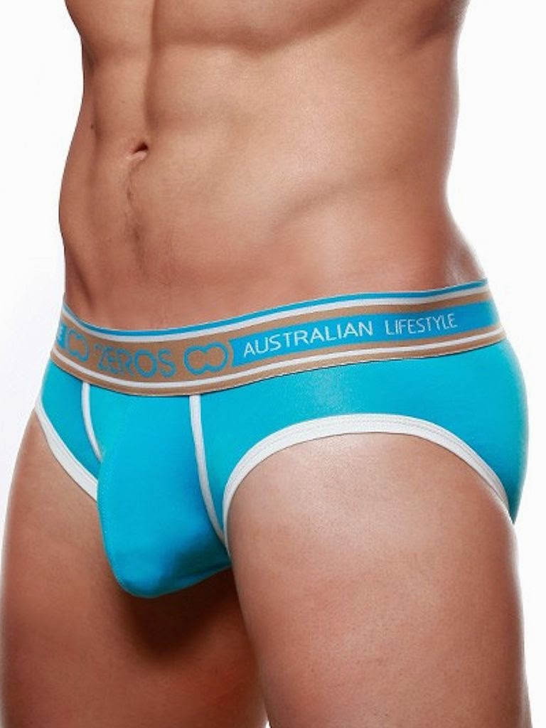 2Eros Coast Brief Underwear Aqua Detail Gayrado