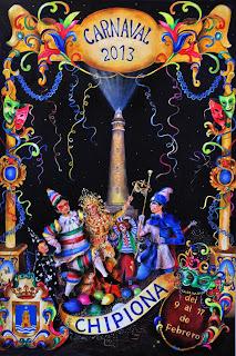 Carnaval de Chipiona 2013 - Manuel Gómez Segura - Noche de serpentinas