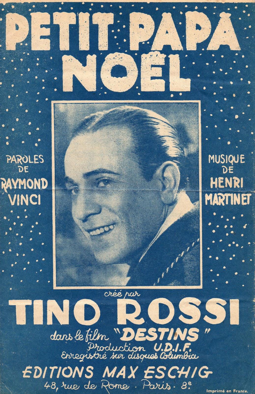 Cin�� Musique: Tino Rossi - Petit Papa No��l