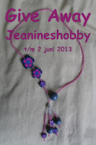 Give Away bij Jeanine