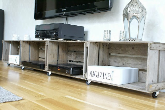 Mi rinc n de sue os small lowcost ideas baratas para - Ideas mueble tv ...
