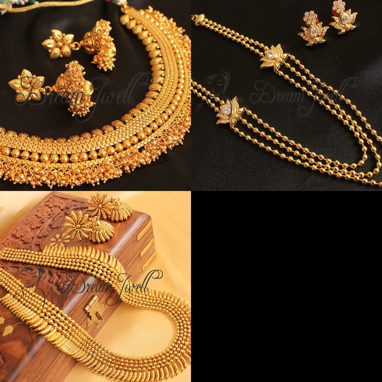 Bengali bridal gold jewellery - Bengali Bridal Costume Jewellery