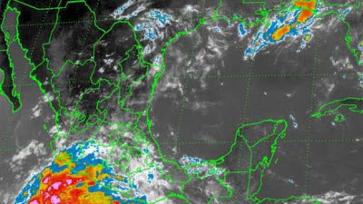 Tormenta tropical Cosme 24 de Junio 2013