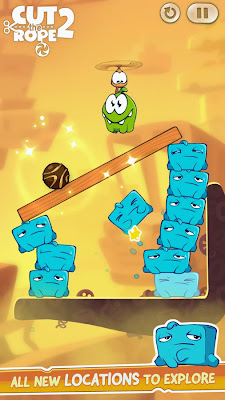 Cut the Rope 2 v1.1.2 APK Mod [Monedas Ilimitadas] Full para android