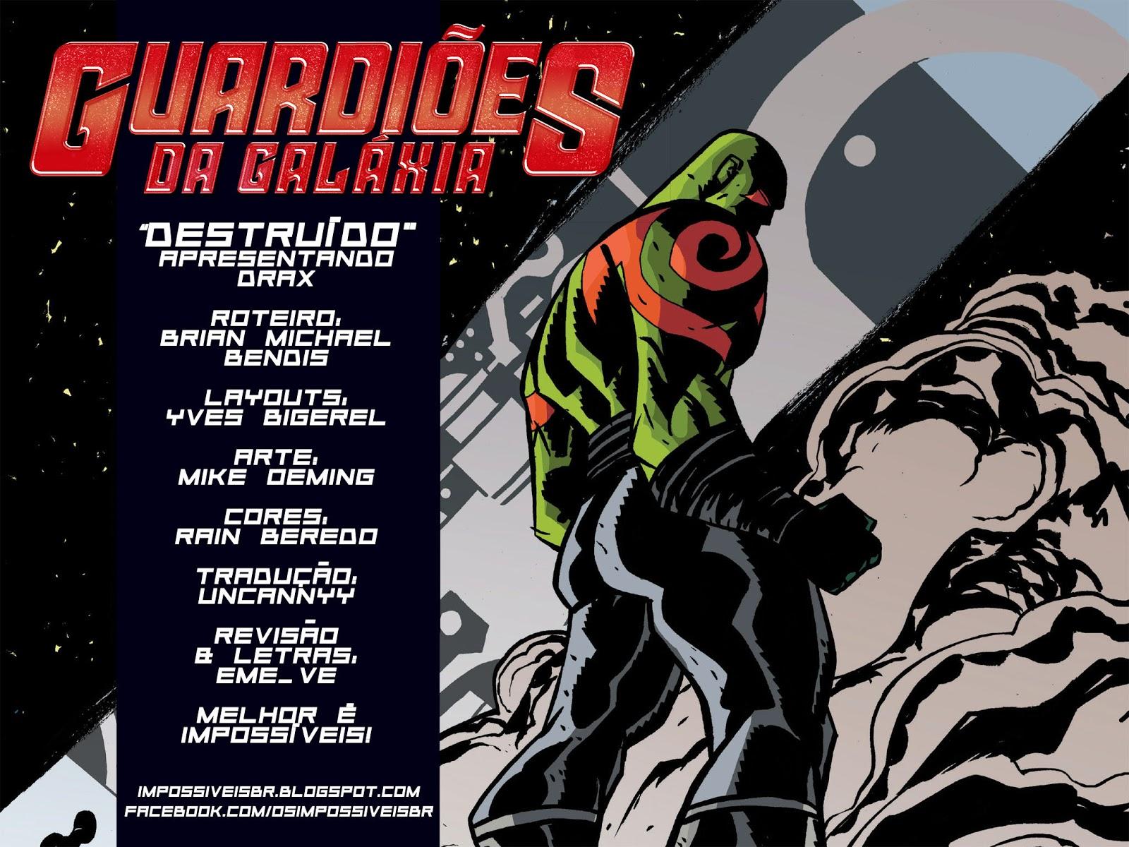 Guardiões da Galáxia - Drax #1