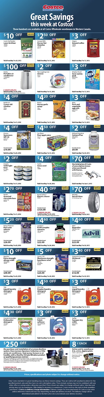 Costco coupons weekly