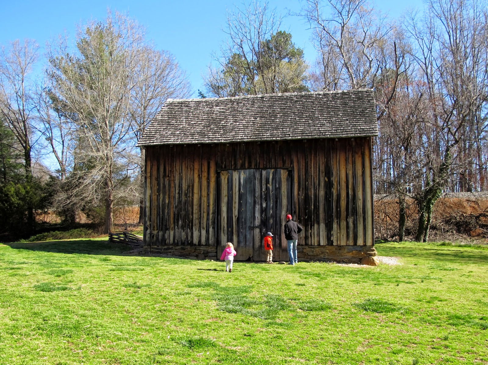 Barn at Historic Bethabara Park