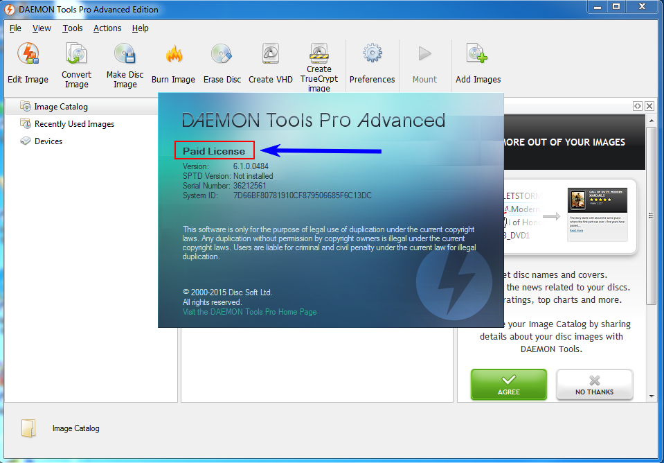 DAEMON Tools Pro Advanced 6.1.0.0484 Crack And Key
