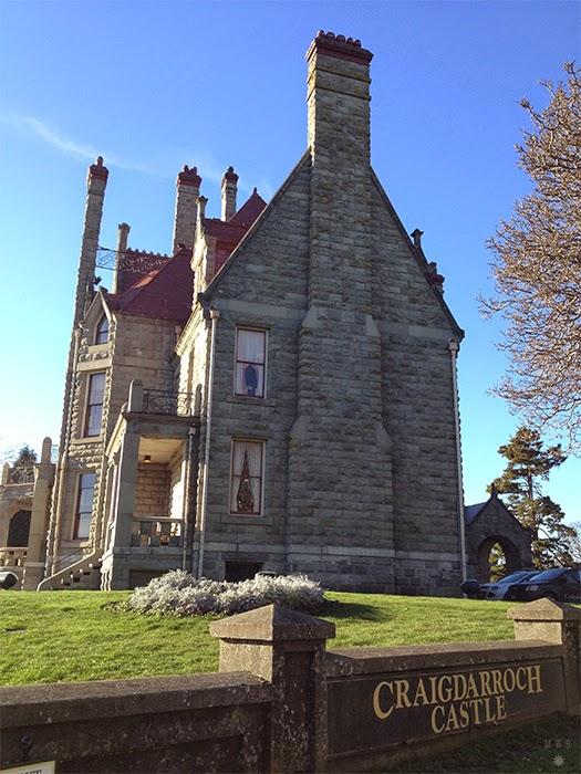 Craigdarroch Castle in Victoria, BC