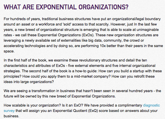 salim ismail exponential organizations pdf