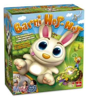 JUGUETES - Barni Hop Hop - Juego de Mesa  Toys | Goliath | A partir de 4 años | Comprar en Amazon