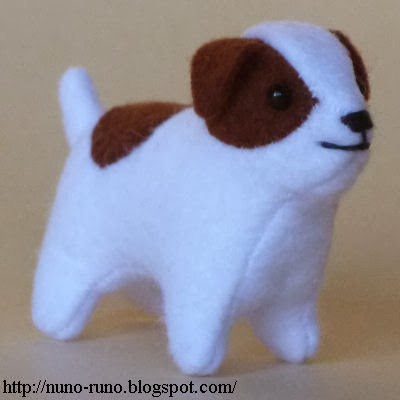 Free Knitting Pattern Jack Russell Dog : Nuno life: Mini dog