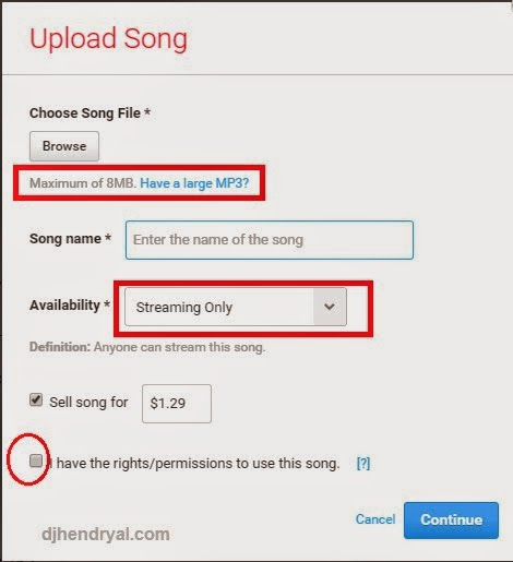 cara Upload lagu di reverbnation