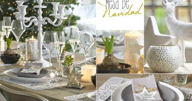 Mesa de navidad bonita pr ctica y n rdica la for Decoracion nordica low cost