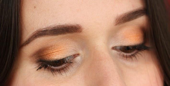 eyeshadow make up tutorial gold