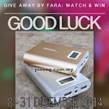 Give Away by Fara: POWERBANK PINENG 10000mAh UNTUK DIMENANGI!