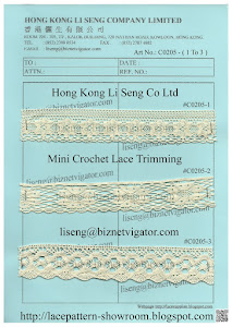 Crochet Lace ( Running In-Stock ) Manufacturer - Hong Kong Li Seng Co Ltd