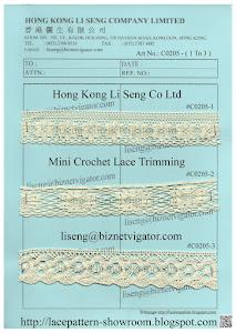 Crochet Lace ( Running In-Stock ) Manufacturer - Hong Kong Li Seng Co Ltd