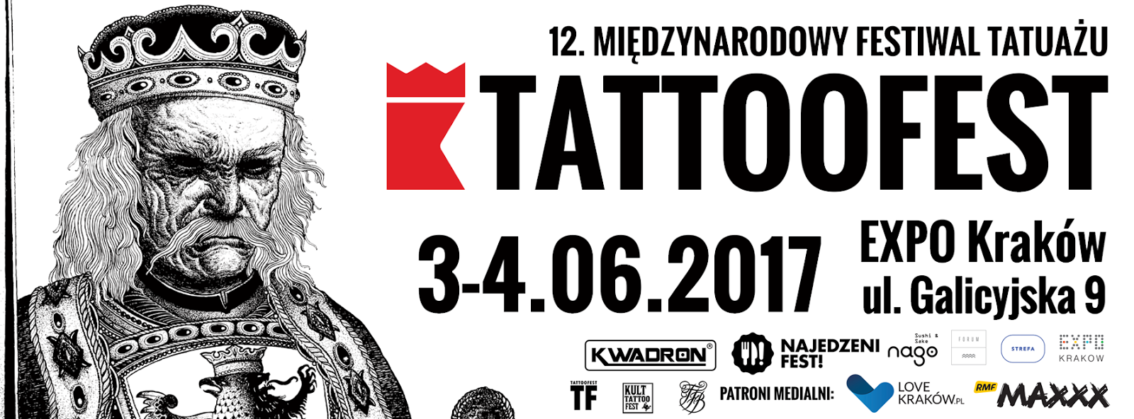 I'll be attending to Tattoofest in Krakow Poland this June