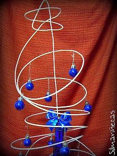 árbol de navidad moderno-