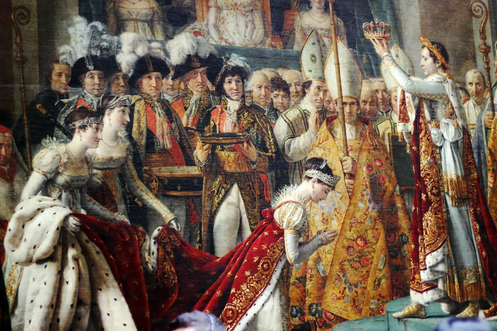 коронация напалеона картина