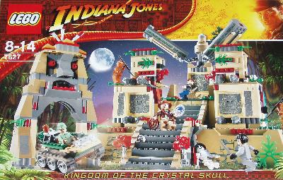 LEGO Indiana Jones Kingdom of the Crystal Skull box.