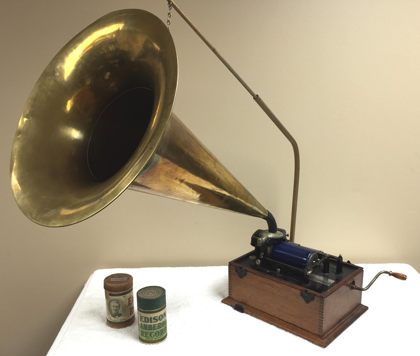 For Many Years Ive Collected Phonographs Built By Thomas Edisons