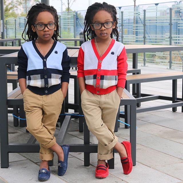 Fab New Photos Of Nigerians MOST STYLISH Twins