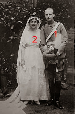Botho Stolberg Wernigerode Renata  Schoenaich Carolath mariage